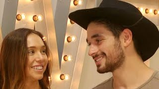 DWTS: Alexis Ren and Alan Bersten Reveal Why They Get 'Frustrated' With Each Other (Exclusive)