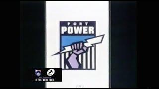 Port Adelaide Logo Launch