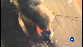 Channel Ten - Park Ridge Bus Fire.mp4