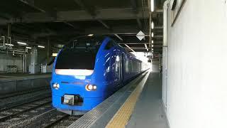 E653系いなほ10号 秋田駅発車