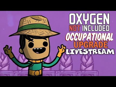Feeding the Colony - Oxygen Not Included Gameplay - Occupational Upgrade - Livestream