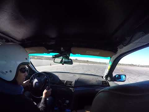 FCM BMW 330i autox LPR Porsche - Kill-a-Cone - Morgan Autism Center - Run 1