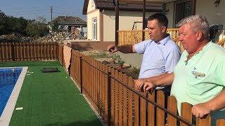 Дом с бассейном построен или в гостях у Андрея Зырянова