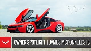 vossen owner spotlight   james lordmcdonnell s bmw i8   vossen forged lc 108t