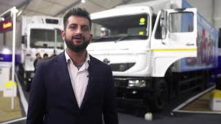 Vikrant Kapoor Diesels, India at Tata Motors 360° E commerce Expo, Gurugram...