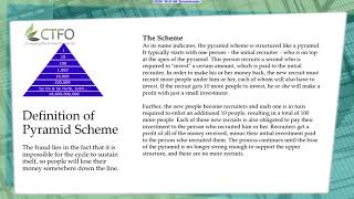 CTFO Pyramid Scheme Watch This First