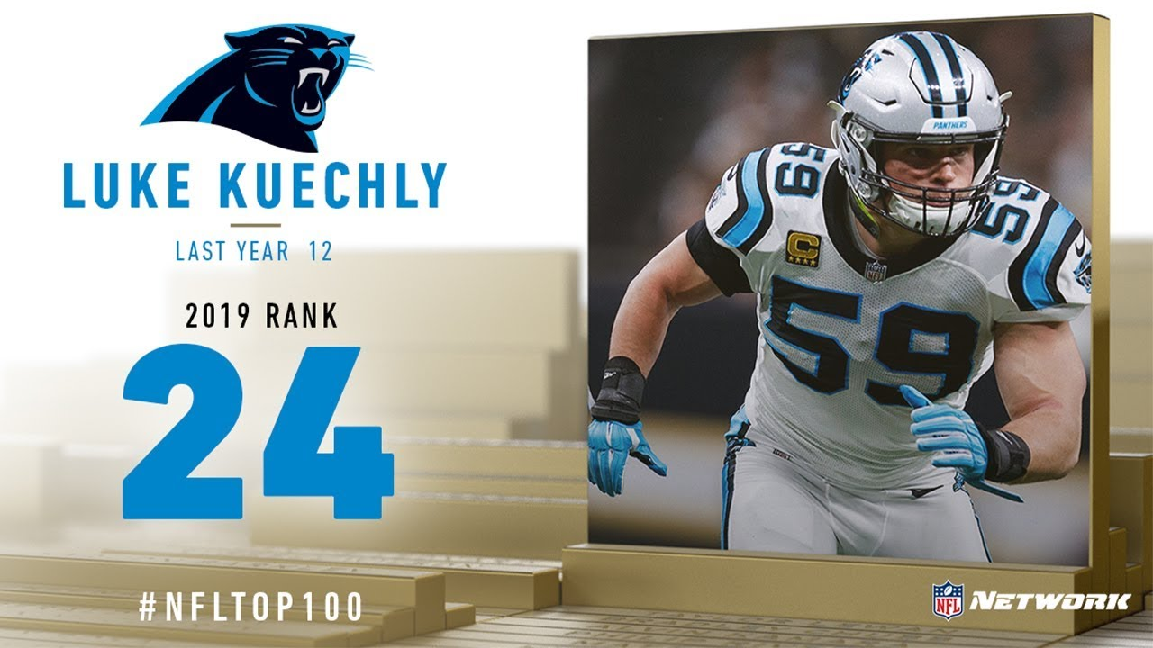 buy popular d9057 ffdeb #24: Luke Kuechly (LB, Panthers) | Top 100 Players of 2019 | NFL