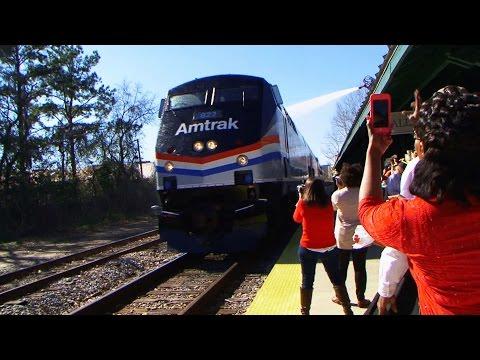 Amtrak to Tally Rally