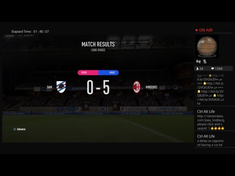 LIVE Sampdoria Vs AC Milan