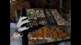 9x9 Rare Oddities Scrapbook Mini Album