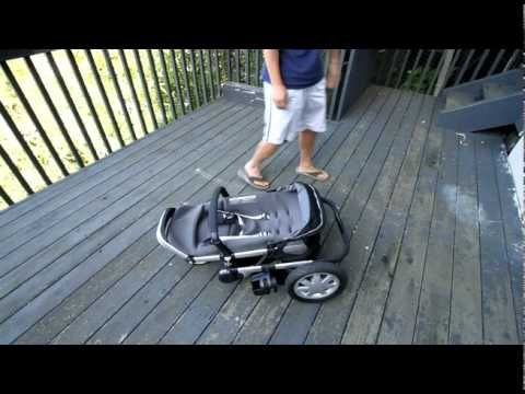 Opening And Closing Quinny Buzz Stroller