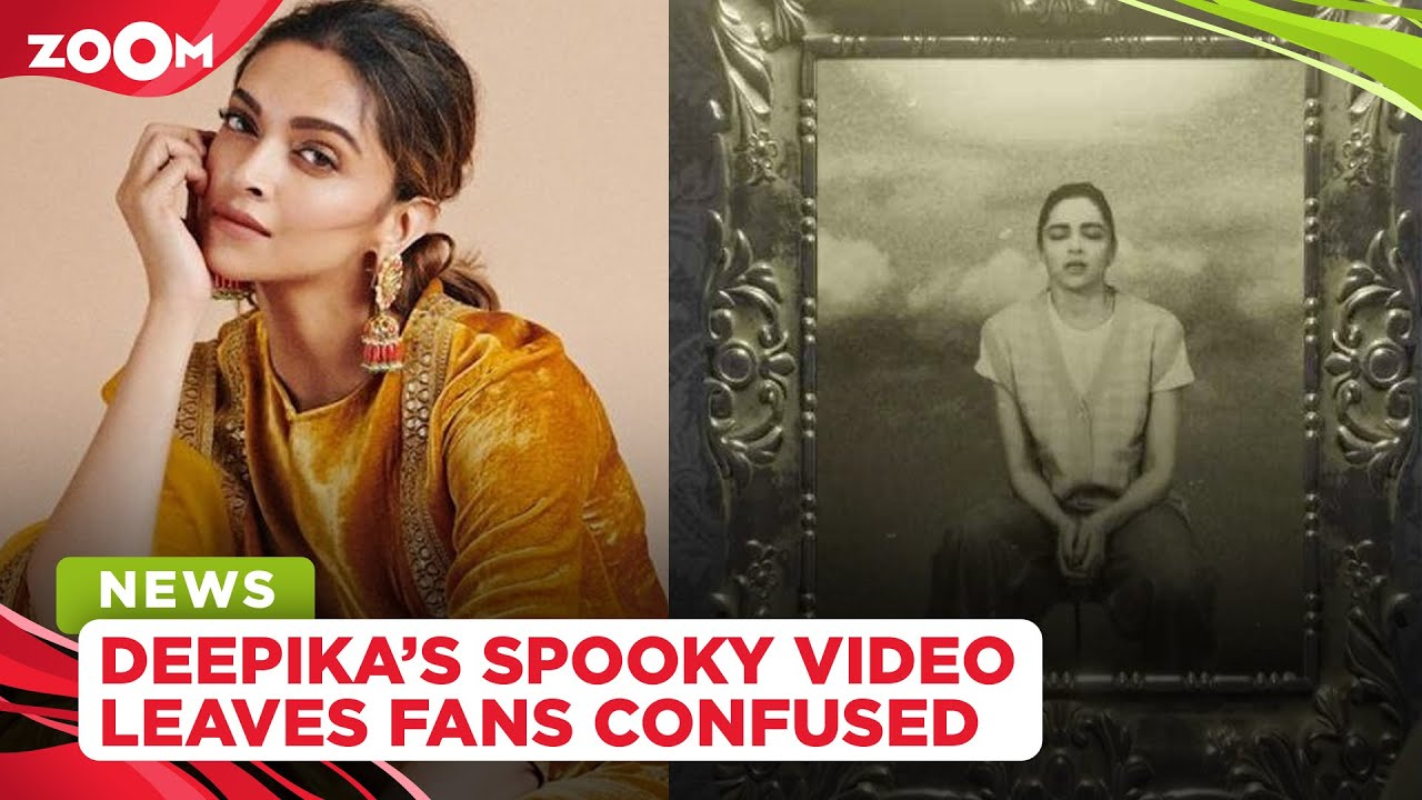 Deepika Padukone shares a mysterious video of herself, leaves fans confused