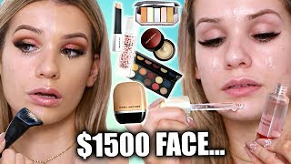 Testing Full Face of LUXURY Makeup... WAS IT WORTH IT?