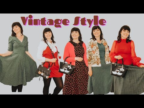 My Week In Outfits / Vintage Fashion Inspiration