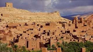 Ouarzazate Morocco Africa Travel day 8-9 Уарзазат Марокко путешествие В Африку(8 and 9 day trip to Africa in the Moroccan town of Ouarzazate. The main attraction are the numerous Ouarzazate ksary.Samy interesting Ksar of Ait Ben Haddou, ..., 2015-12-18T12:32:51.000Z)