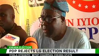 Kwara PDP rejects Local Government election results