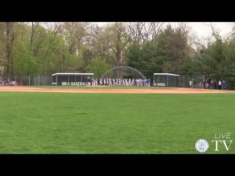 MKA vs Caldwell - Varsity Baseball 4/24/2017
