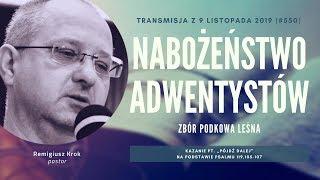 Nabożeństwo Adwentystów - Podkowa Leśna (191109-#550)