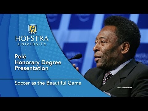 Pelé Honorary Degree - Hofstra University