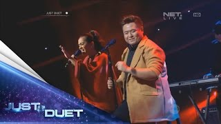 We're all amazed! Fredy & Putri Ayu sings Terlena by Ikke Nurjanah! - Live Duet 05 - Just Duet