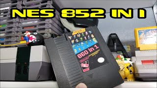 NES 852 in 1 MultiCart test & review