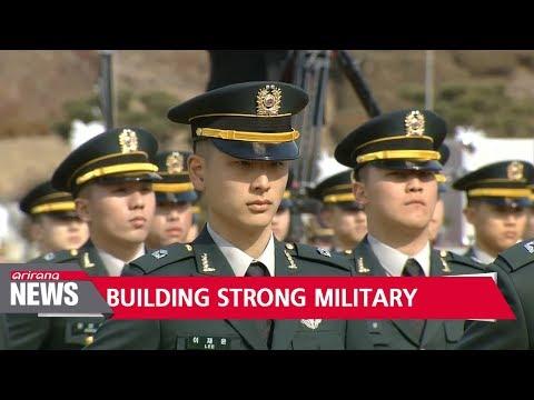 S. Korea should build strong military power to counter N. Korean threat: Pres. Moon