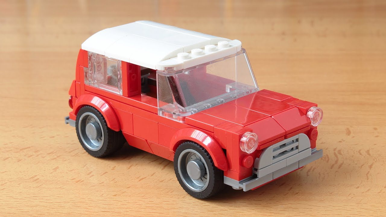 lego mini cooper in the speed champions style moc youtube. Black Bedroom Furniture Sets. Home Design Ideas