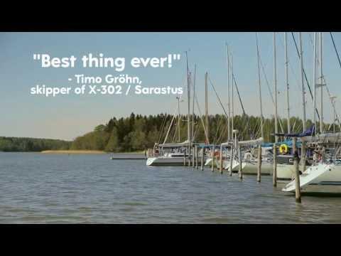 Oceanvolt SD8 6 electric motor refit installation, X-Yachts X-302