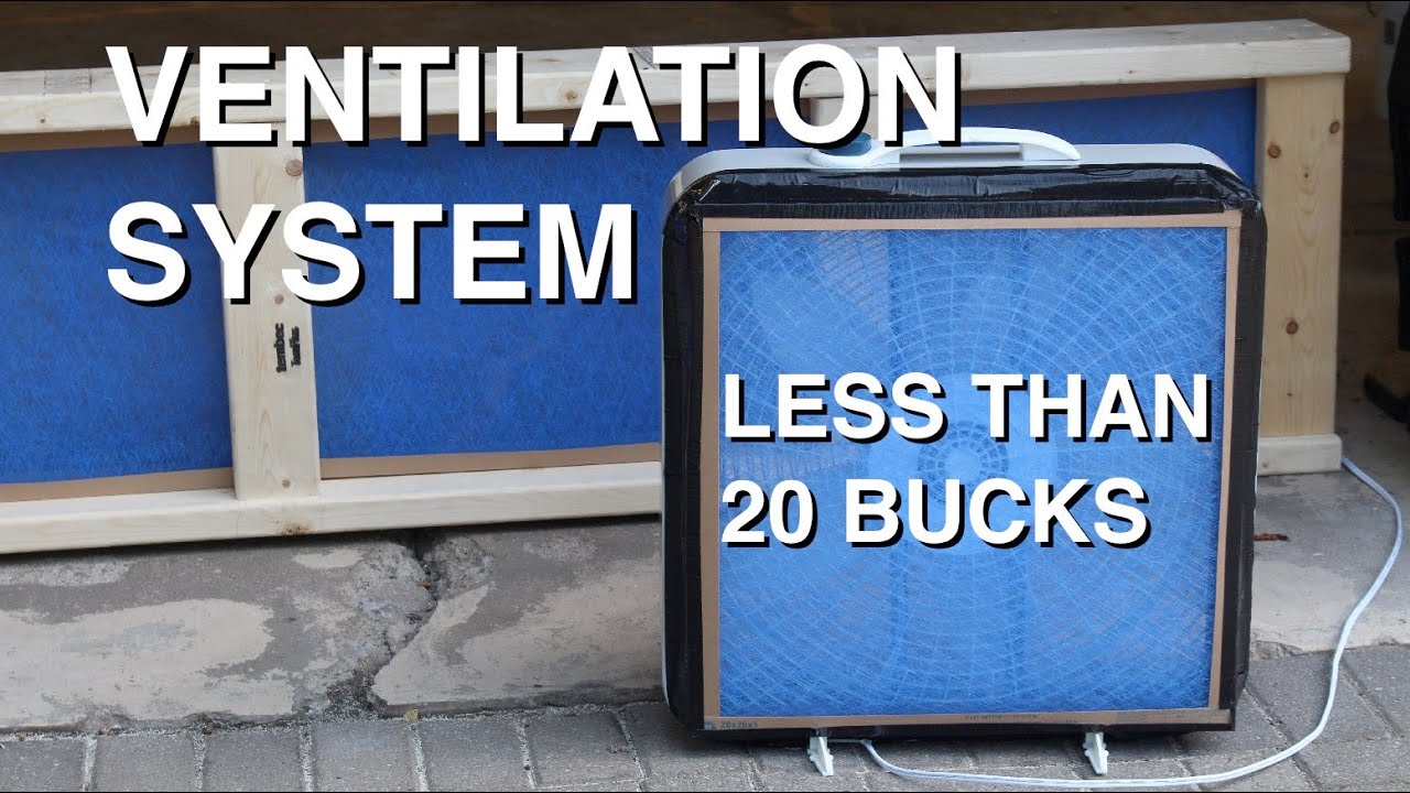 DIY: Garage Ventilation System for Under $20   #2C5F9F