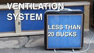 diy garage ventilation system for under 20