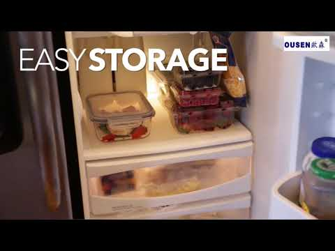 HOT Glass Food Storage Containers with Lids, Glass Meal ...