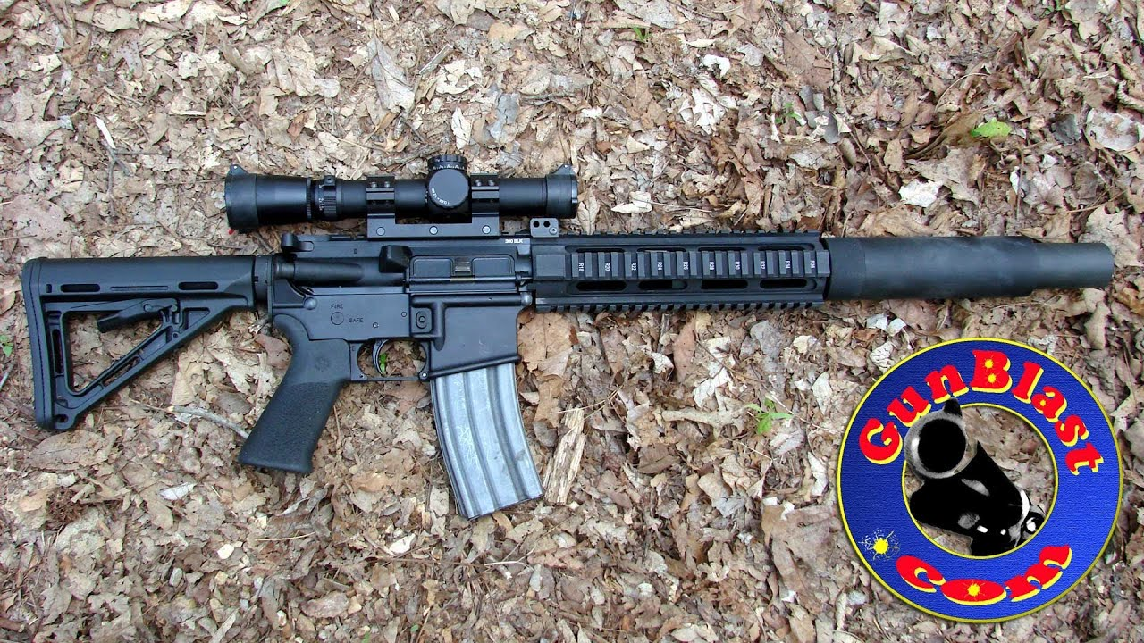 Shooting The Tsar 300 Upper Receiver In 300 Blackout From Tactical