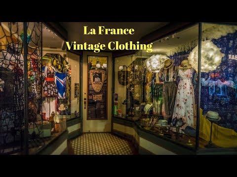 Amazing Vintage Clothing store. La France Ybor City Tampa