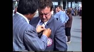 Презентация Глобальной Федерации Тэквон До России  г  Туапсе октябрь 1991г