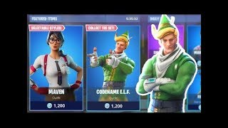 CODENAME ELF RETURNING TONIGHT! - FORTNITE BATTLE ROYALE ITEM SHOP! GIVEAWAY AT 400 SUBS!!