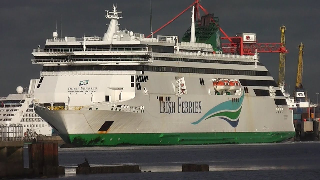 Ulysses Ferry - Biggest Car Ferry in the World - YouTube