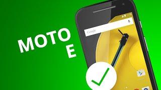 Moto E: 5 motivos para COMPRAR o smartphone da Motorola