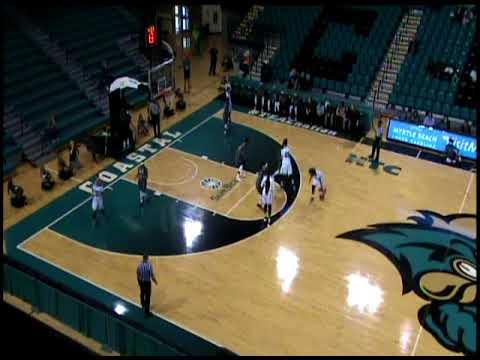 Jas Adams (#10)--Coastal Carolina University--40 points vs Troy State 2-15-18
