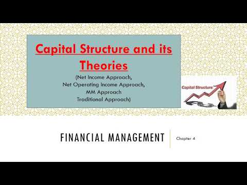FINANCIAL MANAGEMENT   capital structure Theories   Ugc-net July 2018  Commerce  Management