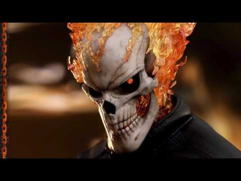 Agents Of SHIELD Hot Toys Ghost Rider 1/6 Scale Figure Toy Fair 2017 Exclusive Reveal!