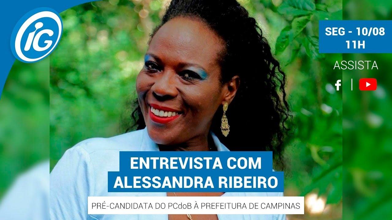 Eleições 2020 - Campinas: Alessandra Ribeiro (PCdoB)