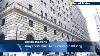 NYC Bank bomber pleads not guilty in court