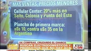 C5N - ECONOMIA: DE COMPRAS AL URUGUAY