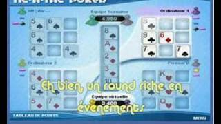 Tic A Tac Poker : darkill & Skynap vs PC1 & PC2