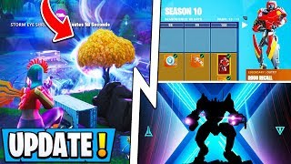 *NEW* Fortnite Update! | Map is Changing NOW, S10 Battle Pass, Teasers!