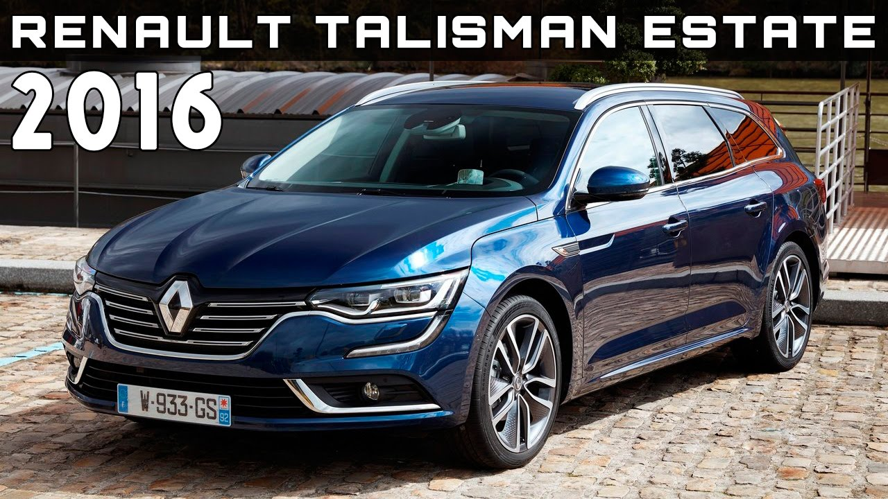 2016 renault talisman estate review rendered price specs release date youtube. Black Bedroom Furniture Sets. Home Design Ideas