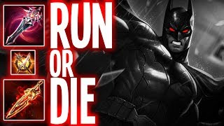 AOV: FULL DAMAGE BUILD IS BRUTAL (BATMAN) |  Arena of Valor Batman Build AoV (ROV)