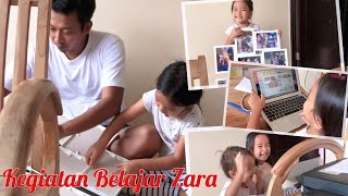 Zara Belajar Cetak Foto Memakai Printer   HomeSchooling   Ekspresi Batita Lucu pertama Lihat Printer