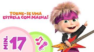 TaDaBoom Português 🌟🎤 Torne-se uma estrela com Masha! 🎤🌟  Coleção de karaokê de Masha e o Urso 🎬