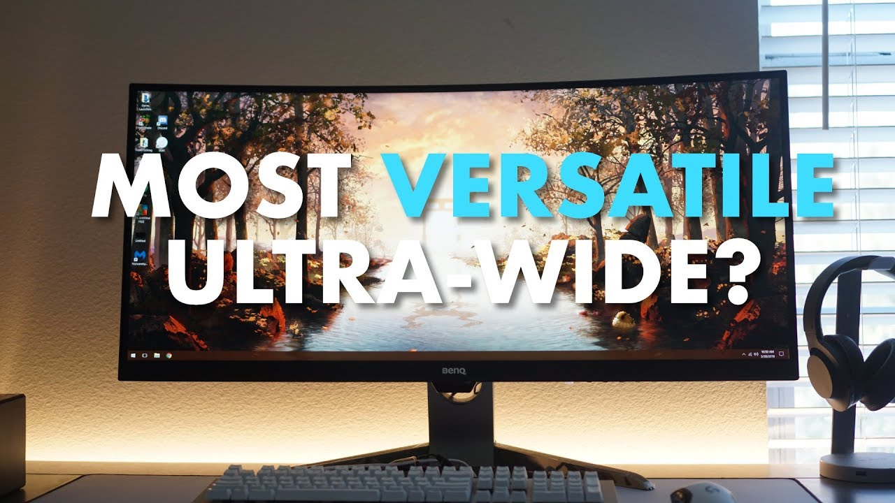 A ULTRAWIDE Monitor With So Many Features: BENQ EX3501R